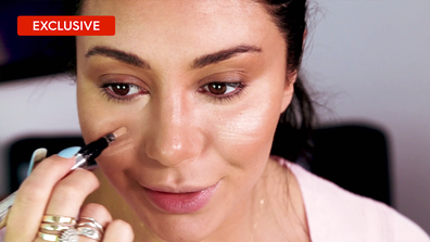 Martha's makeup tips: Secret to concealing under eye circles