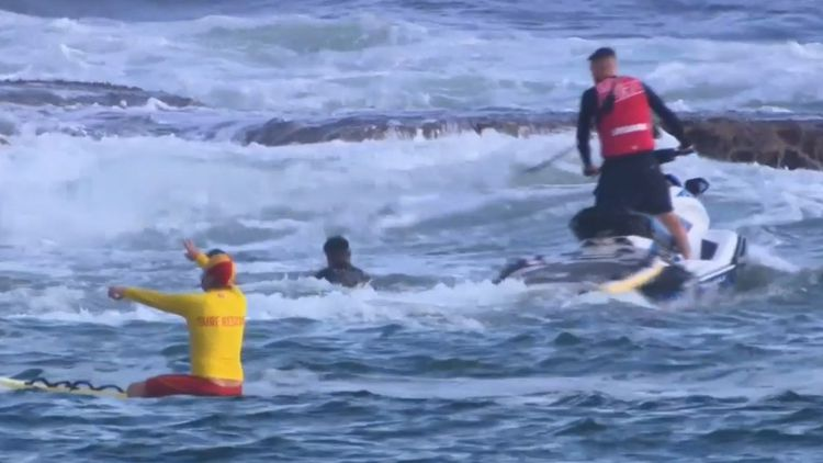 Bondi Beach Rescue Russian Man Dies After Monster Waves Sweeps Couple Off Rocks