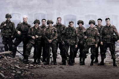When it debuted in 2001, <i>Band of Brothers</i> was the most expensive television miniseries ever made, with a budget of approximately US$125 million (around US$12.5 million per ep). And that doesn't include the US$15 million they spent on advertising in the US alone...