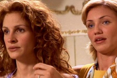Cammy officially stole our hearts as the ditzy blonde fiancé in <i>My Best Friend's Wedding</i> alongside Julia Roberts. Setting some stiff competition to other '90s rom-com it-girls like Meg Ryan.<br/><br/>Then her life certainly became less ordinary, as she gained art-house cred from working with <i>Trainspotting</i> director Danny Boyle in <i>A Life Less Ordinary</i>.<br/><br/>(Image: Julia and Cam in <i>My Best Friend's Wedding</i>. Source: Lionsgate)