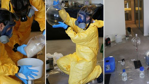 Inside the suburban labs fostering Australia's growing and deadly 'ice' age
