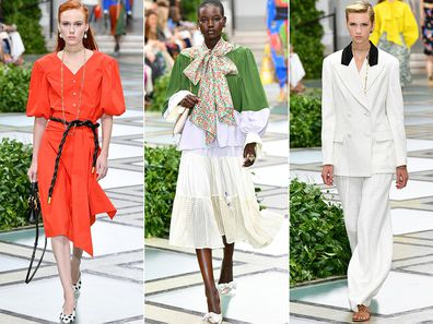 Tory Burch New York Fashion Week show