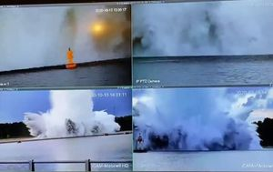 Massive unexploded WWII bomb explodes as experts try to defuse it