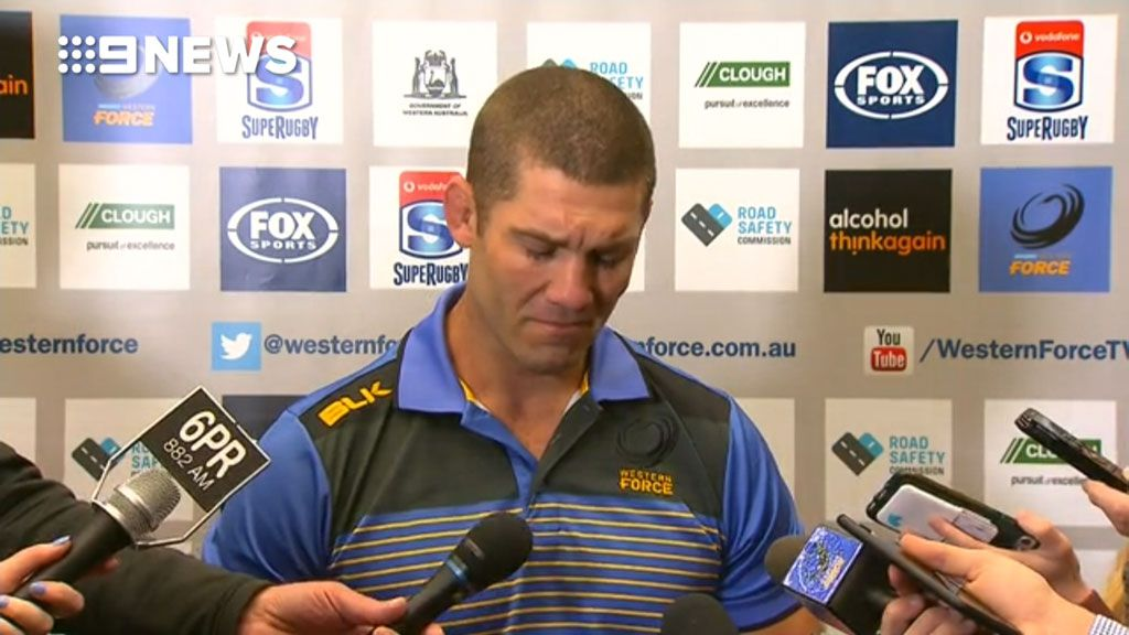 Western Force's Hodgson breaks down