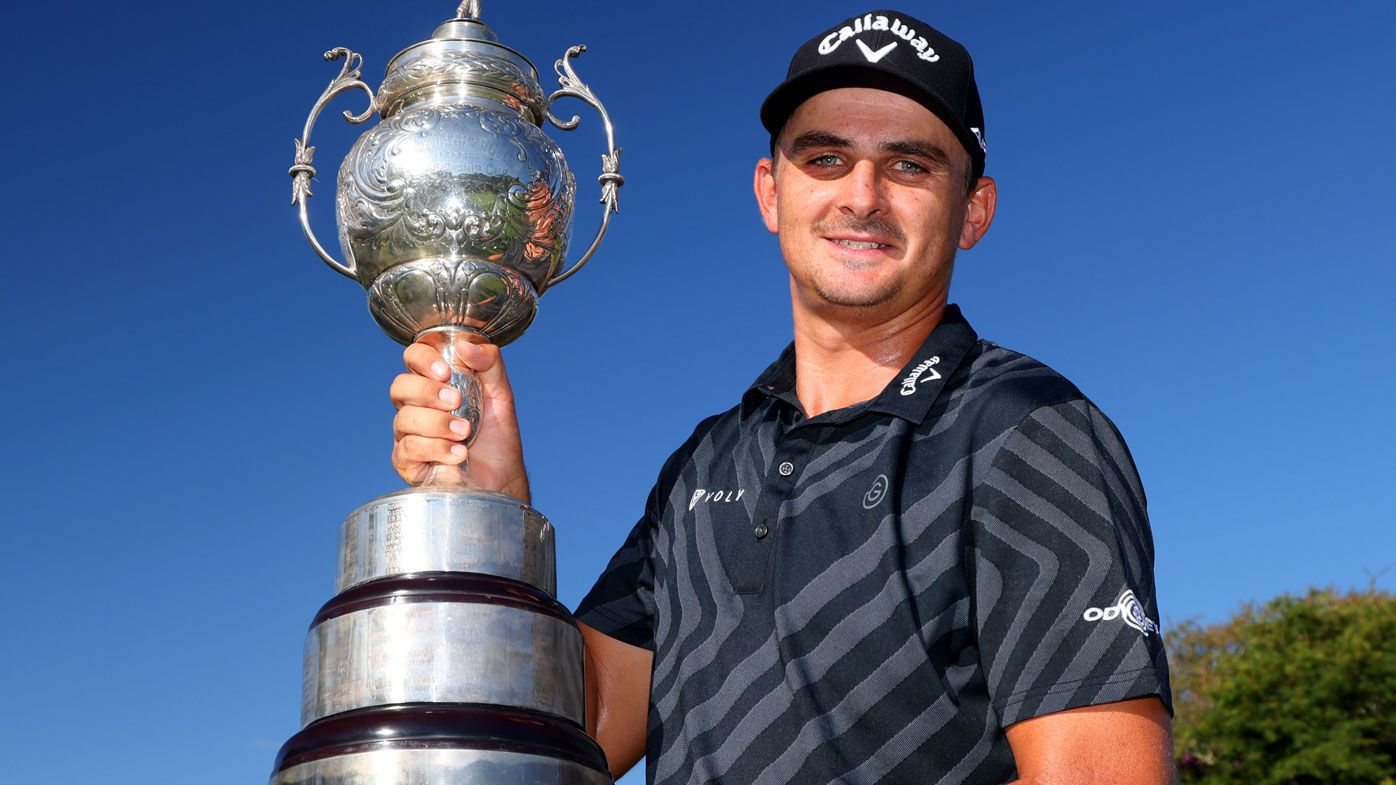 Christiaan Bezuidenhout claims the South African Open. (Getty)