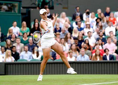 Ash Barty round one Wimbledon