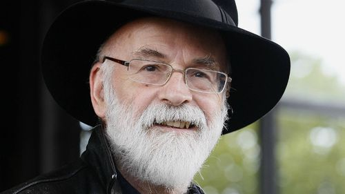 British science fiction and fantasy author Terry Pratchett. (AAP)