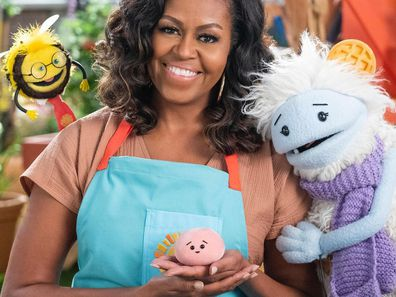 Michelle Obama in new Netflix cooking show