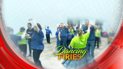 Dancing firies