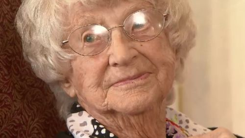 Betty Cornford served during WWII. (9NEWS)