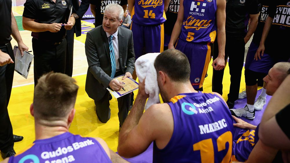 Sydney Kings coach Andrew  Gaze. (Getty Images)