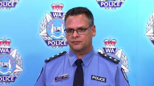 WA Poliec inspector Geoff Desanges told media the reasoning behind the discharge of the officer's weapon is now subject to an investigation.