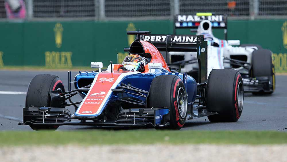 Manor have reportedly gone into administration. (AAP)