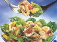 Prawn and Crunchy Tortilla Salad