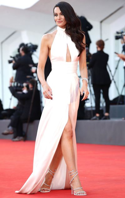 Paola Turani at the opening ceremony of the 2020 Venice Film Festival.