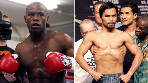 It's on: boxing icons Manny Pacquiao and Floyd Mayweather to finally fight