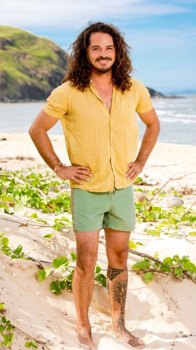 Ozzy Lusth as featured in Survivor Game Changers in 2016.