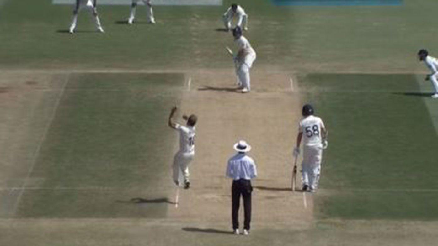 Buttler dismissed in bizarre fashion as NZ thrash England in first Test