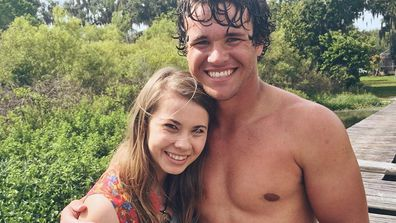 bindi irwin and chandler powell hint at engagement perfect place