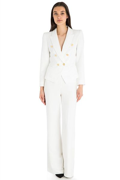"<a href=""http://www.carlazampatti.com.au/shop/suiting/980070.1000/WHITE-CREPE-FLUID-PANT.html"" target=""_blank"">Carla Zampatti</a> suit pants, $499<br />"