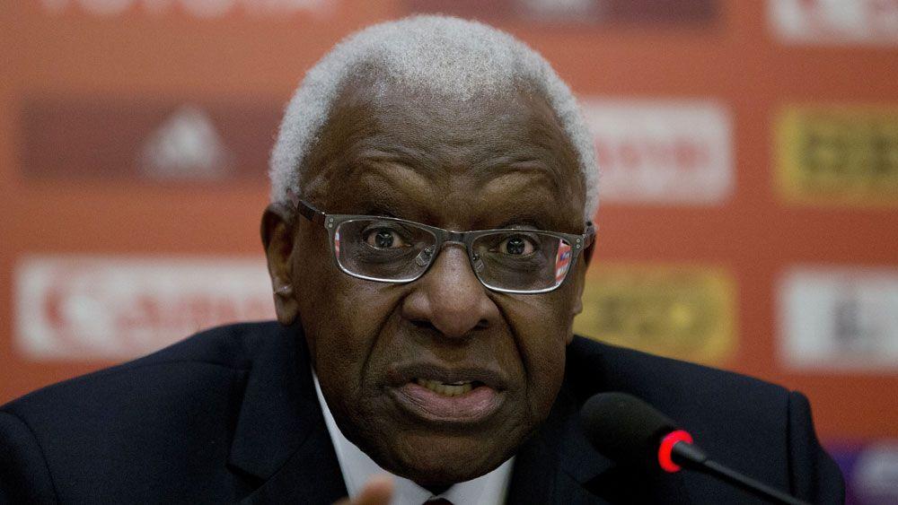 Former IAAF president Lamine Diack. (AAP)