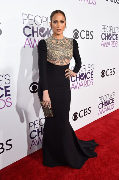 <p>The People&rsquo;s Choice Awards, the awards where we get to choose the winners, has rolled into town and in a major way.</p> <p>All the A-list stars from the big and small screens and the music world too attended the event sweeping down the red carpet beforehand wearing everything from elaborate formal gowns to fringed minis.</p> <p>The standout of the event was Jennifer Lopez (who was spotted snapping selfies with actor Wilmer Valderrama) who was absolutely breath-taking in a fitted Reem Acra gown with a heavily beaded bodice and jewellery by H.Stern.</p> <p>But J-Lo wasn&rsquo;t the only celebrity who caused the crowd to collectively swoon. Click through for pictures of the stars who won the day &ndash; and those who didn&rsquo;t quite there.</p> <p>Image: Getty.</p>