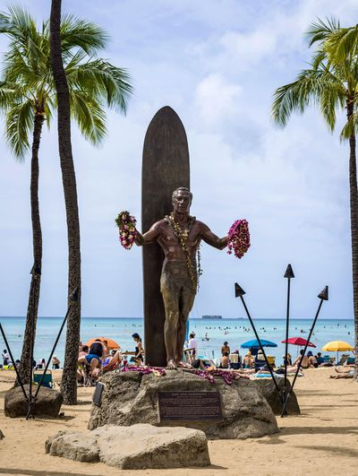5. Duke Kahanamoku Beach, Oahu, Hawaii