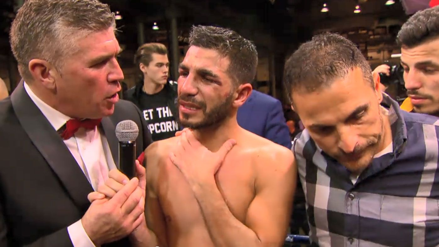 Emotional Billy Dib calls it quits on boxing career after defeat
