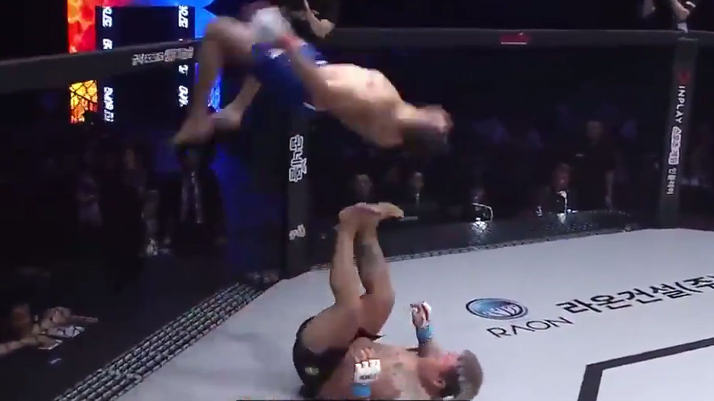 'Better than UFC': Brazilian fighter earns instant hero status with 'bonkers' moves