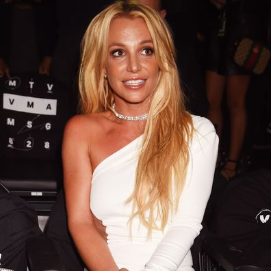 Britney Spears at the 2016 MTV Video Music Awards at Madison Square Garden on August 28, 2016 in New York City.