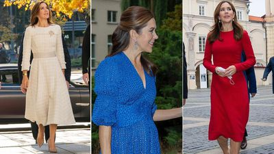 Princess Mary's stylish wardrobe repeats