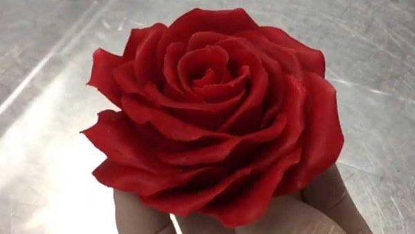 Amaury Guichon's edible rose