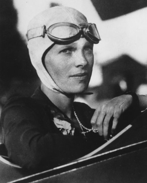 Amelia Earhart was the first woman to fly solo across the Atlantic Ocean. Historians and scientists from The International Group for Historic Aircraft Recovery have been trying to search for the wreckage of Earhart's plane off the remote island of Nikumaroro.