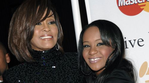 Brown's mother Whitney Houston died in eerily similar circumstances. (AAP)