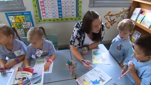 All NSW public schools took part in the Best Start Assessment prior to starting today. (9NEWS)
