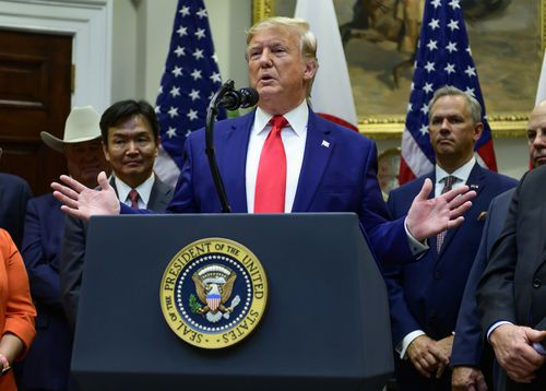 """Trump released almost no medical records during his 2016 campaign; in his 2019 physical, the physician to the President described him as in """"very good health overall."""""""