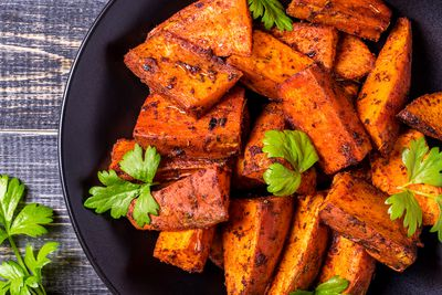 Sweet potatoes: Same as potatoes