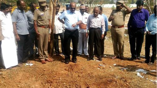 Bus driver killed by meteorite in south India, authorities say