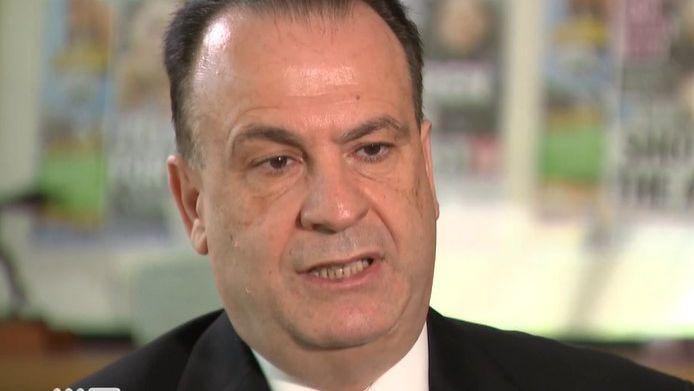 Peter V'landys speaks to Nine News.