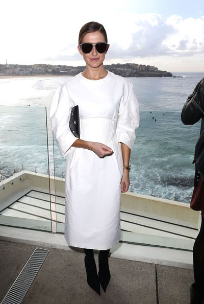 <p>Kate Waterhouse - Blogger and Writer</p> <p>Age: 34</p> <p>Go-to labels: Miu Miu, Gucci, Christopher Esber</p>