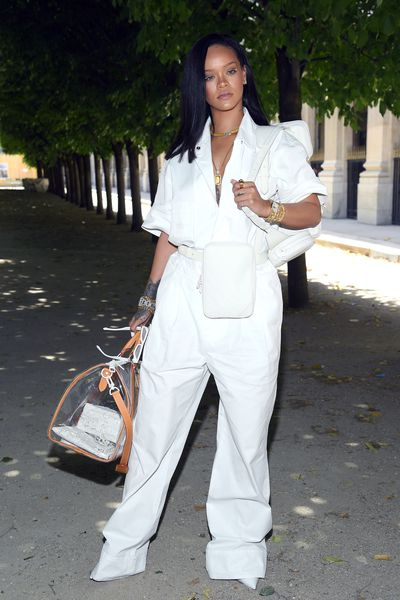 Rihanna at Louis Vuitton Menswear Spring/Summer '19