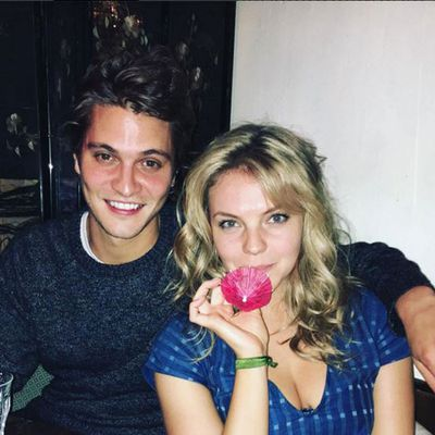 Eloise Mumford and Luke Grimes