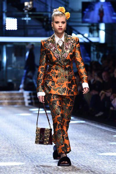 Sofia Richie at Dolce & Gabbana