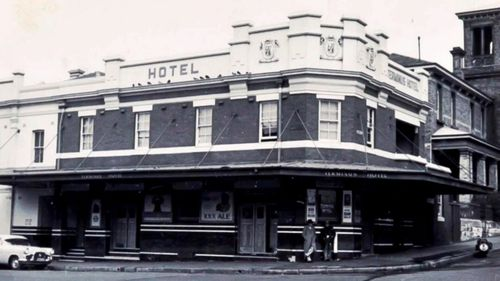 The hotel used to serve working men in working class Darling Harbour. (9NEWS)