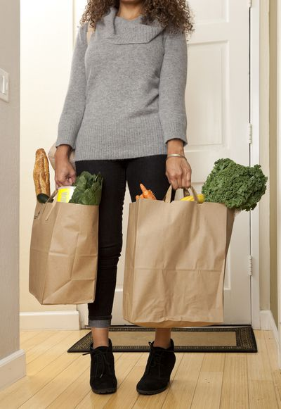 <strong>Bringing the groceries in - 111 calories in 15 minutes</strong>