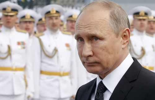 Russian President Vladimir Putin is modernising the country's navy.