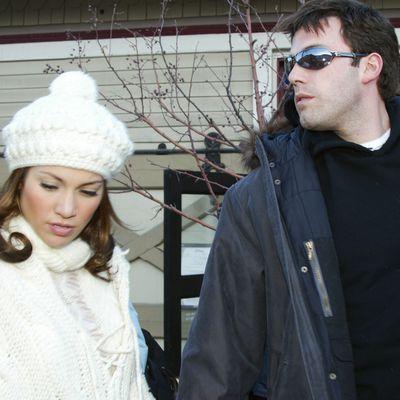 Jennifer Lopez and Ben Affleck: January 2003