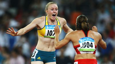 Sally McLellan, 100m hurdles