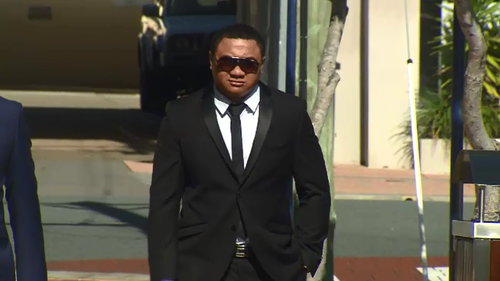Champion fighter Daniel Valusaga has walked free after pleading guilty to assaulting a young woman in January 2017.