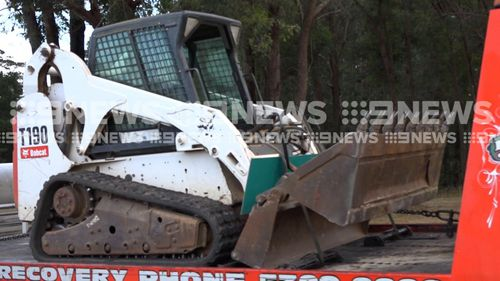 The thieves left behind a trail of destruction. (9NEWS Exclusive)